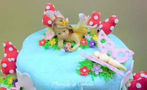 Small Picture On Birthday Cakes A Fairy Garden Cake