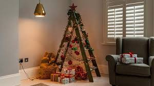 christmas trees for small spaces. Delighful Small Stepladder Christmas Tree Inside Christmas Trees For Small Spaces M