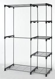 Amazoncom Closet Organizer Storage Rack Portable Clothes Hanger