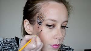 steunk makeup tutorial 8 teardrops