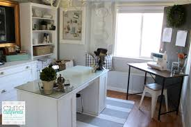 office craft room. Home Office Craft Room. Office/craft Room Makeover Reveal - Chic California R