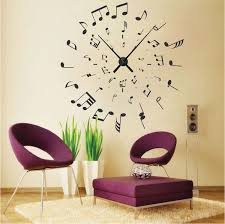 excellent ideas wall clock decal