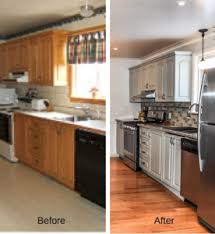 inexpensive kitchen renovations before and after. kitchen reno before and after inexpensive renovations