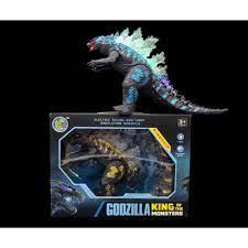 ✨King of Monster Godzilla ก็อตซิลล่า มีเสียง มีไฟ ของเล่น godzilla