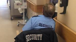 Hospital Security Guard Aberdeen Hospital Racks Up 1m Bill For Guards To Watch Patients