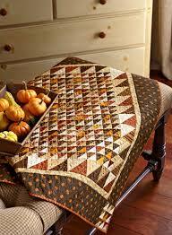 Fall Table Topper - Fat Cat Quilts &  Adamdwight.com