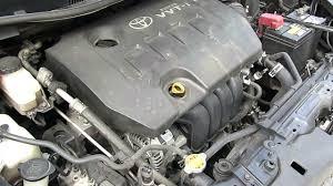 Toyota Wish 2.0A Engine Running - YouTube