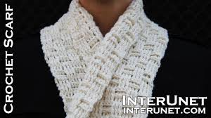 Youtube Crochet Patterns Inspiration Crochet A Scarf Easy For Beginners Pattern Using Double Crochet