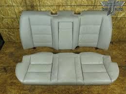 91 95 bmw e34 525i rear seat leather upper lower cushion set oem