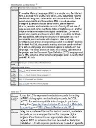 Identification And Description Xml Xml Schema