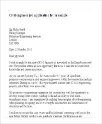 Civil Engineering Intern Cover Letter Examples Dailyvitamint Com