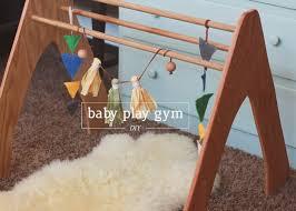diy wooden play gym