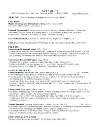 Sample Academic Librarian Resume Research Librarian Resume Sample School Librarian Resume Cover 37