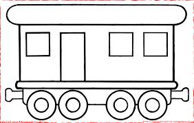 Wagon Avec Fen Tres Et Porte Colorier Omalov Nky Ablony