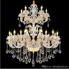 european style chandeliers luxury led crystal chandelier for crystal accessories for chandeliers large bowlder crystal pendant lamp designer