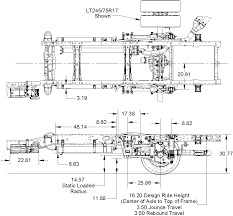 ford f 350 suspension system for emergency vehicles F350 Frame Diagram ds98f4_dims Ford F-350 Frame Width
