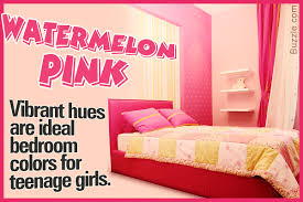 Bedroom colors for teenage girls