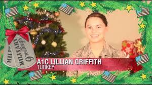 A1C. Lillian Griffith | Military Greetings | ktbs.com