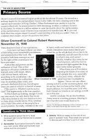 oliver cromwell essay  oliver cromwell essay
