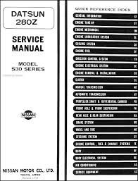 1975 1976 datsun 280z repair shop manual original covers all 1975 1976 datsun 280z models this book measures 8 5 x 11 and is 1 5 thick buy now to own the best manual for your vehicle 1975 1976