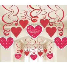 valentine office decorations. Image Is Loading Hanging-Valentines-Day-Decorations-Foil-Swirl-30-Pc- Valentine Office Decorations R