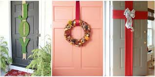 christmas front door decorations5 Best Christmas Door Decorations  How to Decorate Your Door for