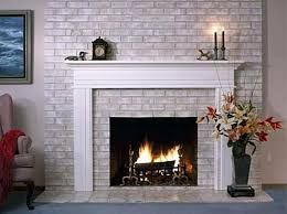 Small Picture Painting Brick Fireplace Cute Interior Home Design Wall Ideas By