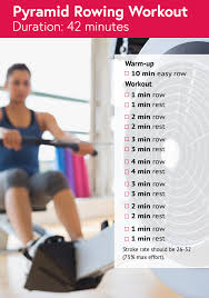 pyramid power rowing machine workout