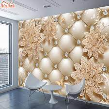 ShineHome Floral Soft Roll Diamond ...