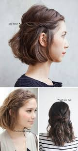 Half Ponytail Hairstyles Short Hair Dos 10 Quick And Easy Styles Bobby Pins Twists