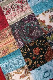 Quilt Throw Pink Blue Paisley Patchwork Boho Chic Cotton Lap Blanket & ... black detail Quilt Throw Patchwork Boho Chic Cotton Lap Blanket ... Adamdwight.com