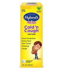 Kids Cold Medicine Hylands Homeopathic