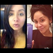 snooki with no makeup then now
