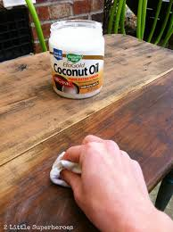 natural color furniture. how to refinish old wood furniture with coconut oil it rehydrates the brings out natural color and takes away musty smell o