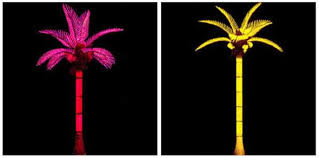 led palm trees 2
