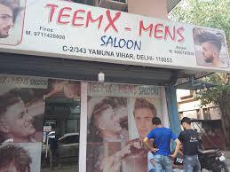 team x men saloon photos yamuna vihar delhi makeup artists