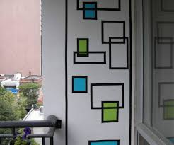 How To Create Wall Art With Electrical Tape: 6 Steps (With Pictures)  Pertaining