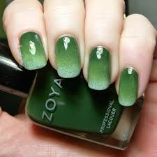 Awesome green nails!