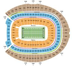 Empower Field At Mile High Seating Chart Denver