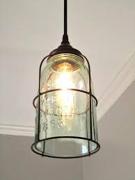 mason jar track lighting. rust cage half gallon mason jar pendant light track lighting