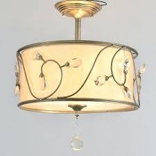 modern drum light modern drum shade re crystal chandelier fabric ceiling lamp home decorative light fixture