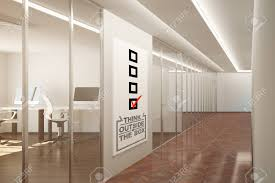 outside the box office. Outside The Box Office. Side View Of Contemporary Office Interior With Creative Sketch. Think C