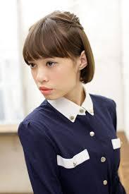 入学式入社式スーツ姿の似合う髪型長さ別簡単ヘアアレンジmery