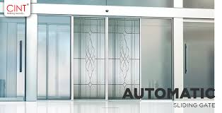 how do sensors slide an automatic sensor glass door