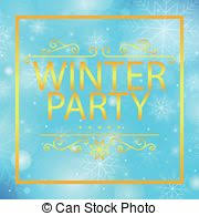 Image result for winter party clipart