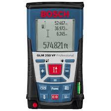 <b>Лазерный дальномер Bosch GLM</b> 250VF Professional (0601072100)