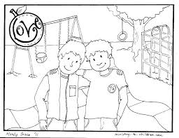 Hello Neighbour Coloring Pages Neighbor And Sweet By Via Alex Photo