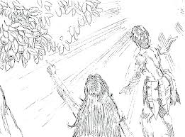 Terrific Adam And Eve Coloring Pages Terrific And Eve Coloring Pages