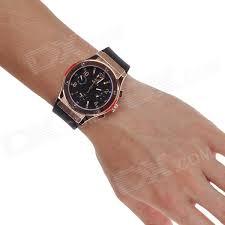 speatak sp9041g stylish men s quartz wrist watch six stitch speatak sp9041g stylish men s quartz wrist watch six stitch stopwatch black golden 1 x lr626