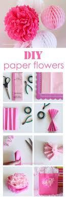 diy make tissue paper flowers diy projects
